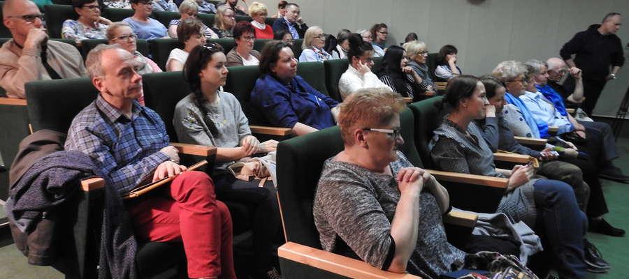 Spotkanie z Agnieszką Pietrzyk odbyło się w Bibliotece Elbląskiej