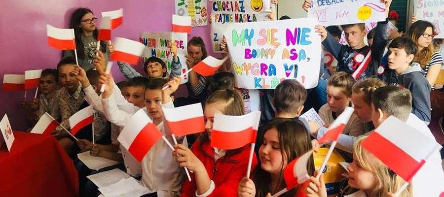 Dzieci z Niepublicznej Szkoły Podstawowej w Krekolach już świętowały. Teraz czas na resztę mieszkańców naszego powiatu