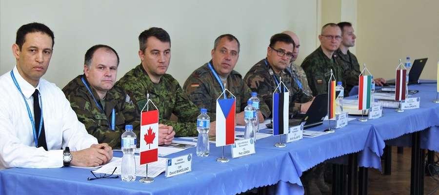 Spotkanie w Wielonarodowej Dywizji Północny Wschód