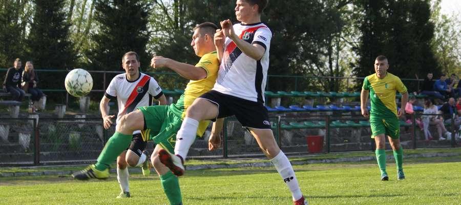Mecz w Sępopolu, gdzie Łyna zremisowała z Wilczkiem Wilkowo