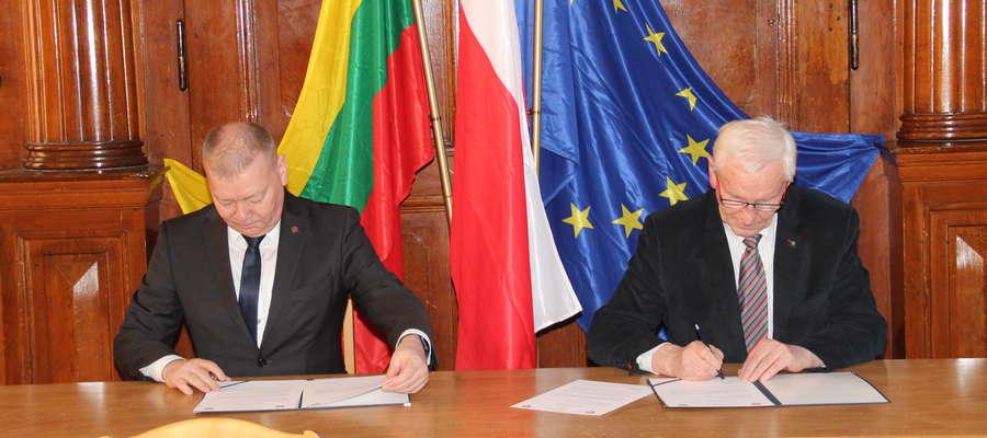 Podpisanie deklaracji o kontynuowaniu współpracy