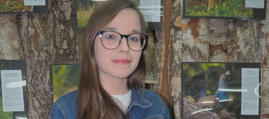 Jolanta Krzesińska swoją przyszłość wiąże z leśnictwem