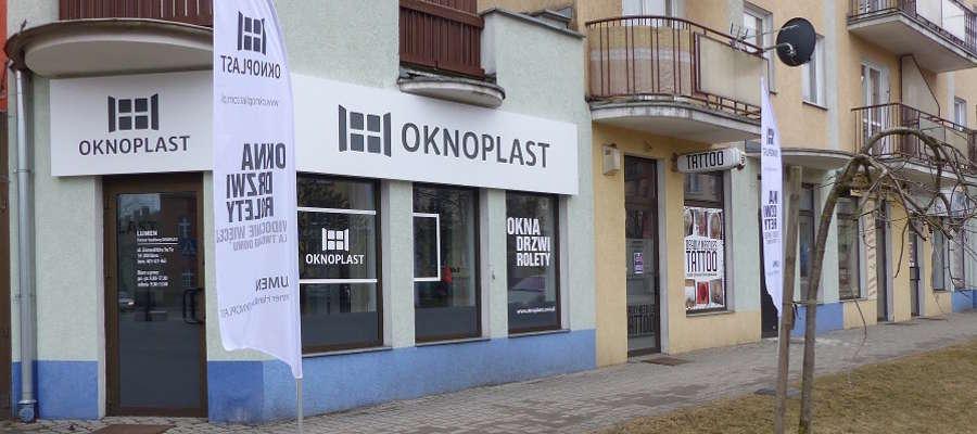 Nowy punkt OKNOPLASTU znajduje się w Iławie przy ul. Grunwaldzkiej 9a/7a