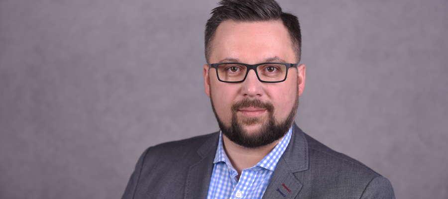 Marcin Kulasek ma być jedynką na olsztyńskiej liście