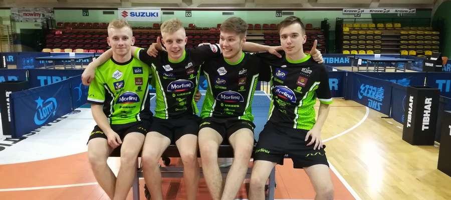 Czwórka juniorów Morlin Ostróda z Krosna wróci z medalem