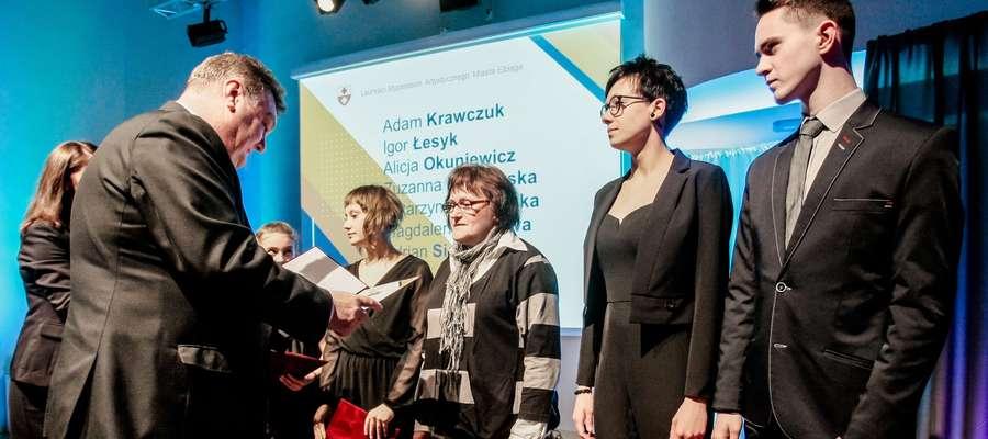 Wręczenie Stypendiów Kulturalnych Miasta Elbląg w 2017 r.
