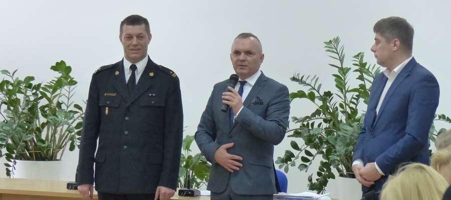 Burmistrz  Nidzicy Jacek Kosmala