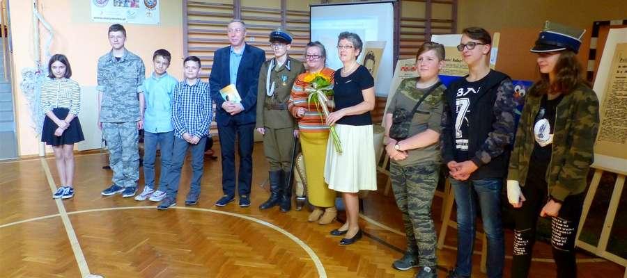 Promocja książki Grażyny Wosińskiej odbyła się w SP nr 1 w Elblągu