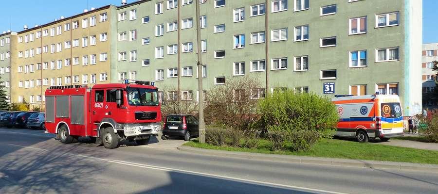 Do zdarzenia doszło w środę 18 kwietnia w bloku przy ul. 1 Maja w Iławie