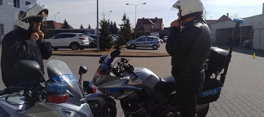 Ostródzcy policjanci są gotowi sezonu wiosenno-letnio-jesiennego