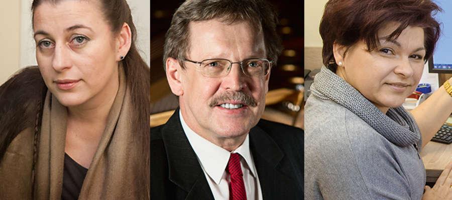 Od lewej: prof. dr hab. inż. Dorota Fopp-Bayat, prof. dr hab. Paweł Skrzypek, prof. dr hab. Katarzyna Glińska-Lewczuk