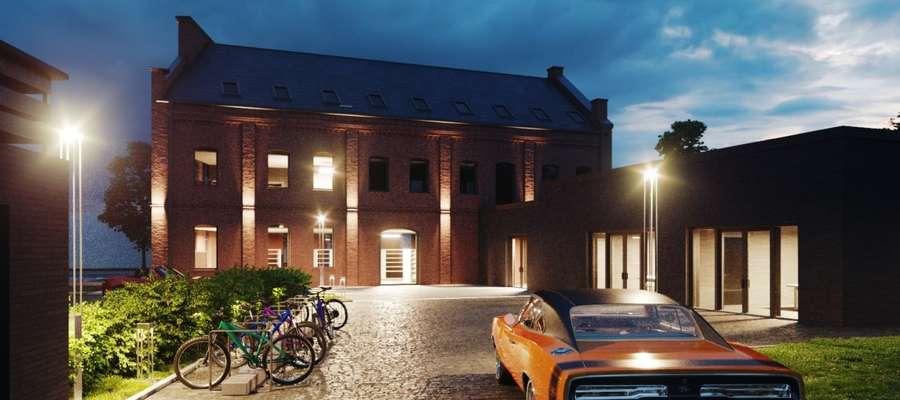 Tak ma wyglądać budynek przy ul. Stawidłowej 3. Projekt Grzegorz Latecki