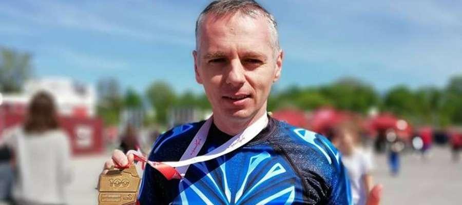 Robert Puczel pokonał maraton z wynikiem 3:44:56