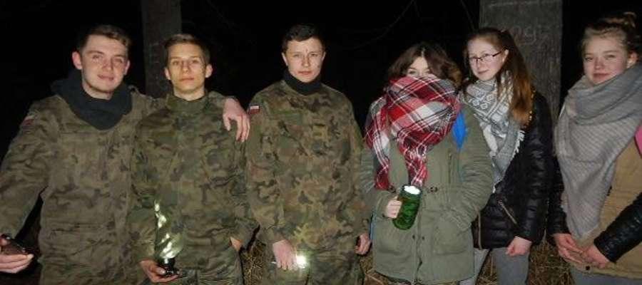 Uczniowie Technikum Leśnego w Iłowie wzięli udział w tegorocznej Nocy Sów