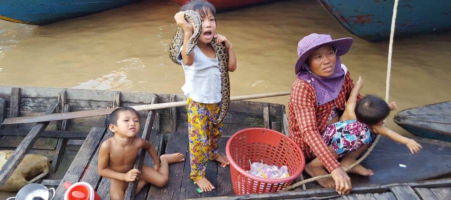 Tak się bawią dzieci w Kambodży