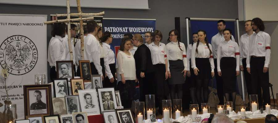 W czasie uroczystości w Olsztynie