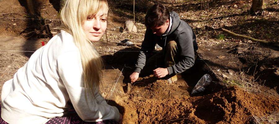 W kwietniu w pracach archeologicznych brali udział studenci