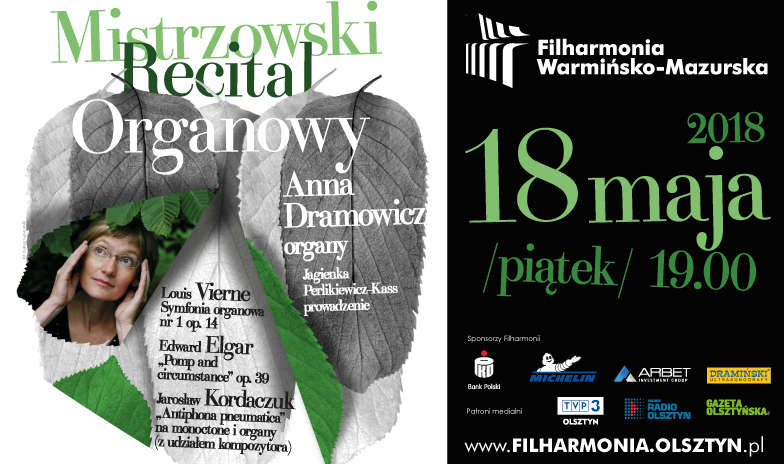 Mistrzowski Recital Organowy – Anna Dramowicz - full image