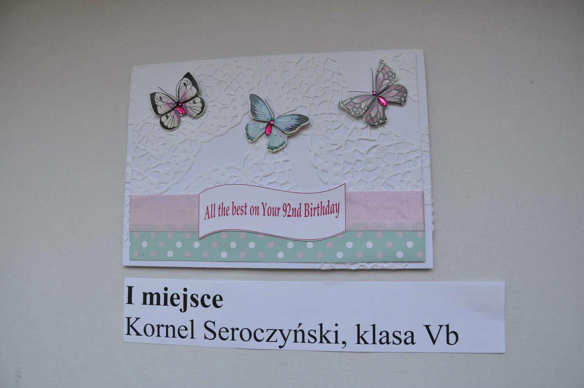 Uczniowie pisali kartki z życzeniami dla Elżbiety II