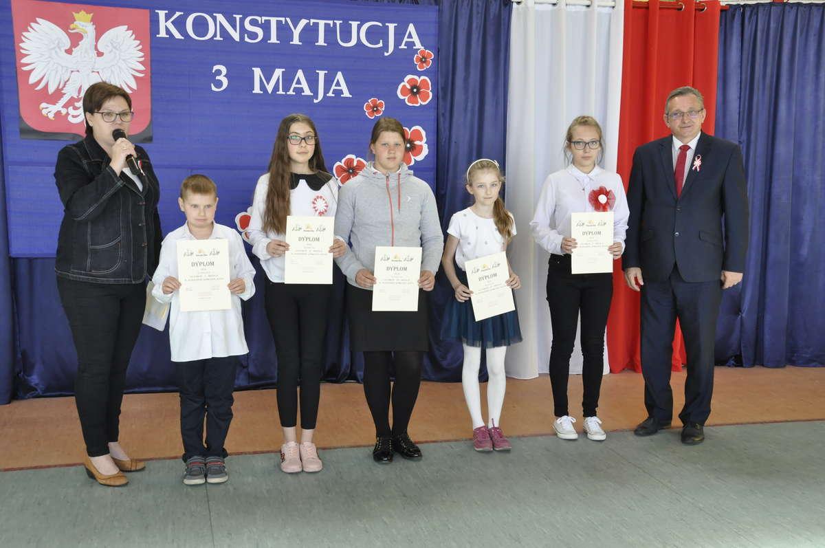 Najlepsi dostali dyplomy i podziękowania