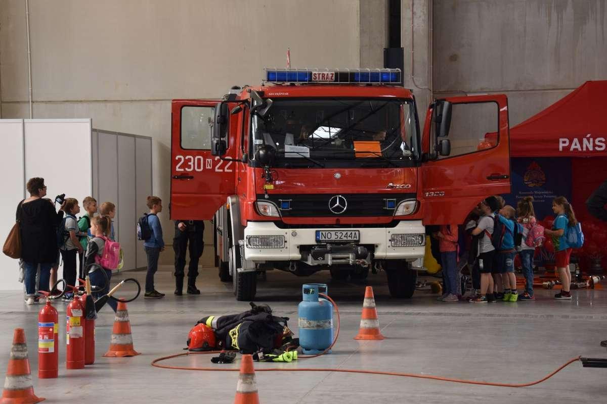 Expo Mazury dbają o bezpieczeństwo najmłodszych - full image