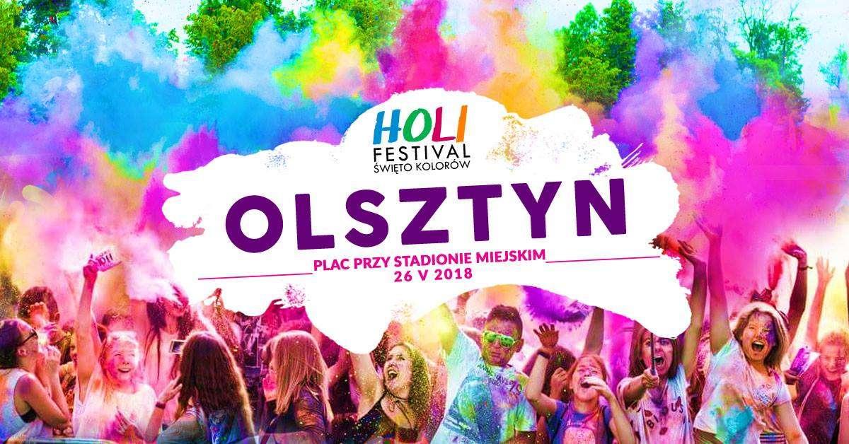 Holi Festival - Święto Kolorów w Olsztynie - full image