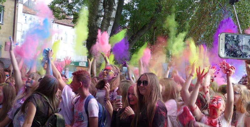 Ostróda znów stanie się kolorowa za sprawą Holi Festival Poland - full image