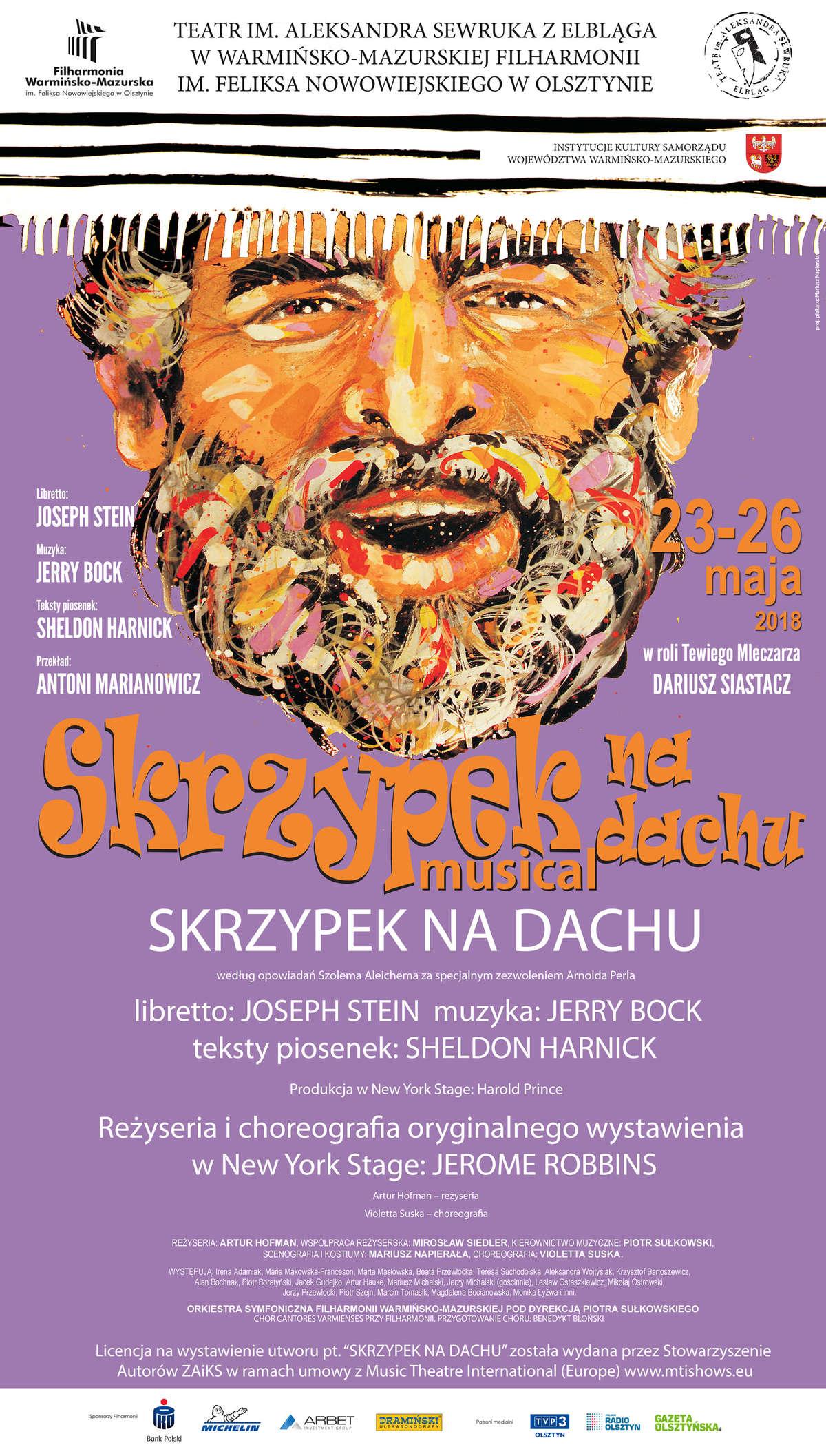 """Skrzypek na dachu"" w filharmonii - full image"
