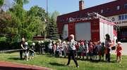 Przedszkolaki odwiedziły oleckich strażaków