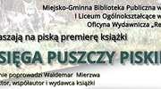 """Piska premiera """"Księgi Puszczy Piskiej"""""""