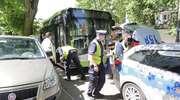 W centrum Olsztyna autobus zderzył się z fordem