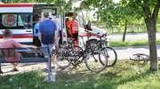 Kolejny wypadek na ścieżce rowerowej w Olsztynie [ZDJĘCIA]
