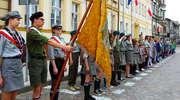 Dzień Flagi w Nowym Mieście Lubawskim z harcerzami