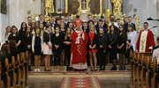 Arcybiskup Józef Górzyński udzielił młodzieży sakramentu bierzmowania