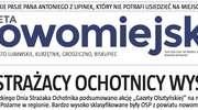 """Jutro świeża """"Gazeta Nowomiejska"""" - 24 strony wiadomości!"""