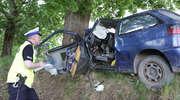 Tragedia na drodze pod Olsztynem. Nie żyje kierowca seata, dwie dziewczynki w stanie krytycznym [ZDJĘCIA]