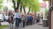 Happening patriotyczny. Dzieci świętowały Dzień Flagi
