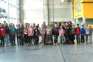Uczniowie z Zajączkowa w Expo Mazury w Ostródzie
