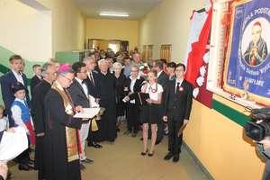 Szkoła w Sampławie dumnie nosi imię kardynała Stefana Wyszyńskiego