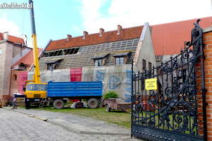 Biblioteka w remoncie. Na ratunek ponad 750-letnim murom [zdjęcia]