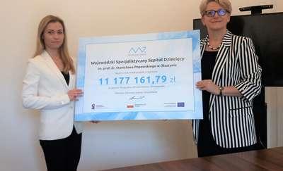 Szpital Dziecięcy w Olsztynie będzie miał Centrum Urazowe