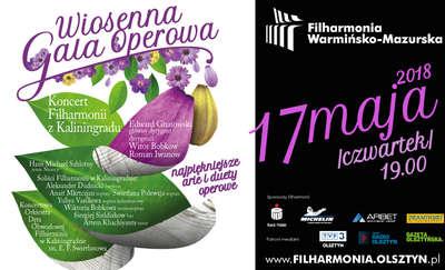 Wiosenna gala operowa