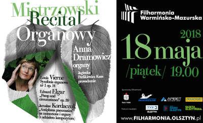 Mistrzowski Recital Organowy – Anna Dramowicz