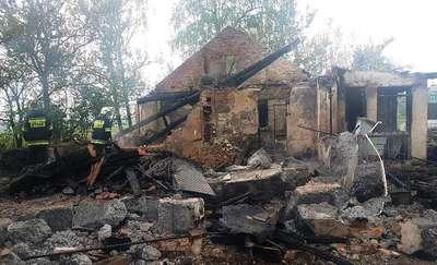 Pożar w Kadzielni. Odnaleziono ciało