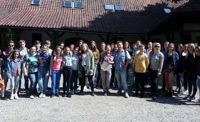 Eko pobyt uczniów z Haltern w zaprzyjaźnionym Durągu