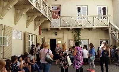 Uczniowie ZSS w Stradunach zwiedzali  Wilno - Troki