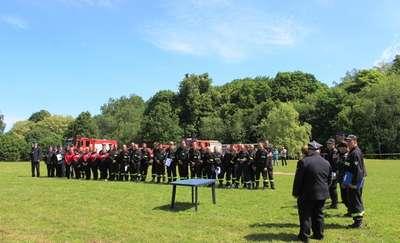 Sportowa rywalizacja strażaków ochotników