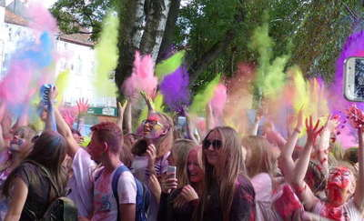 Ostróda znów stanie się kolorowa za sprawą Holi Festival Poland