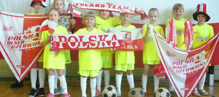 Dziewczęta będą kibicować Reprezentacji Polski