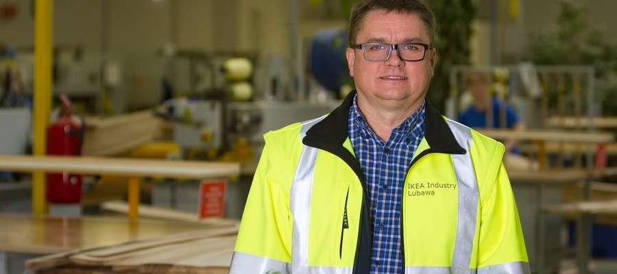 Zbigniew Nikelewski, dyrektor IKEA Industry Lubawa